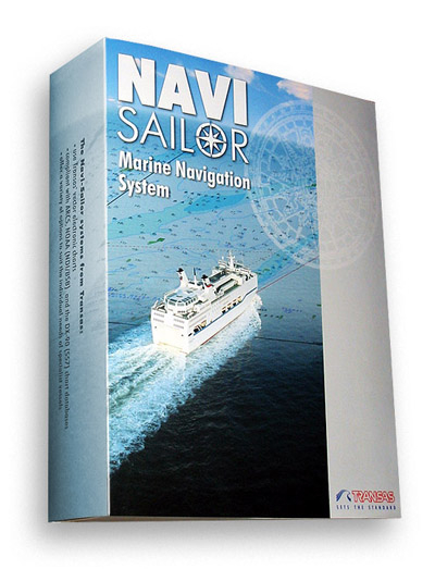 Navi-Sailor 4000 ECS MFD, эл. карты ТХ-97